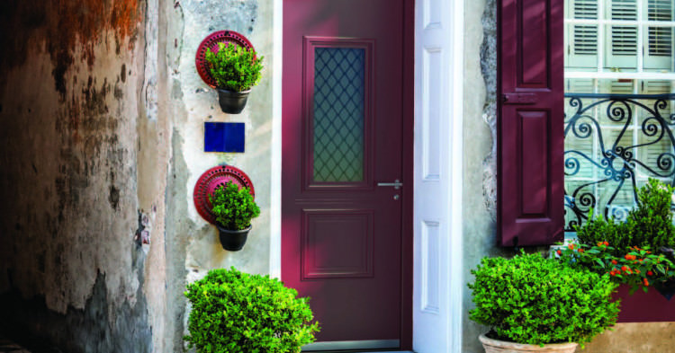 What do popular front door colors say about you?