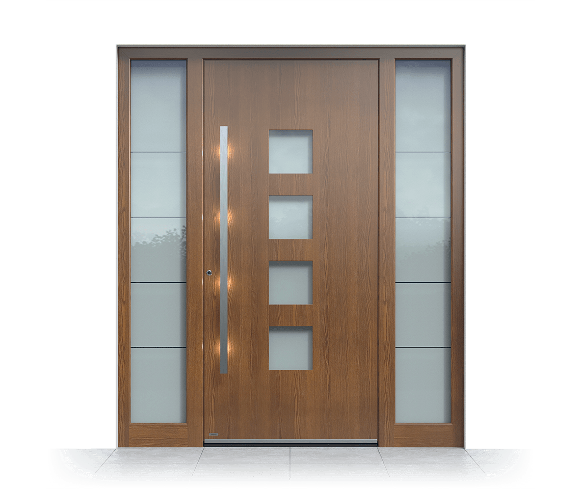 Aluminium entrance door 1401