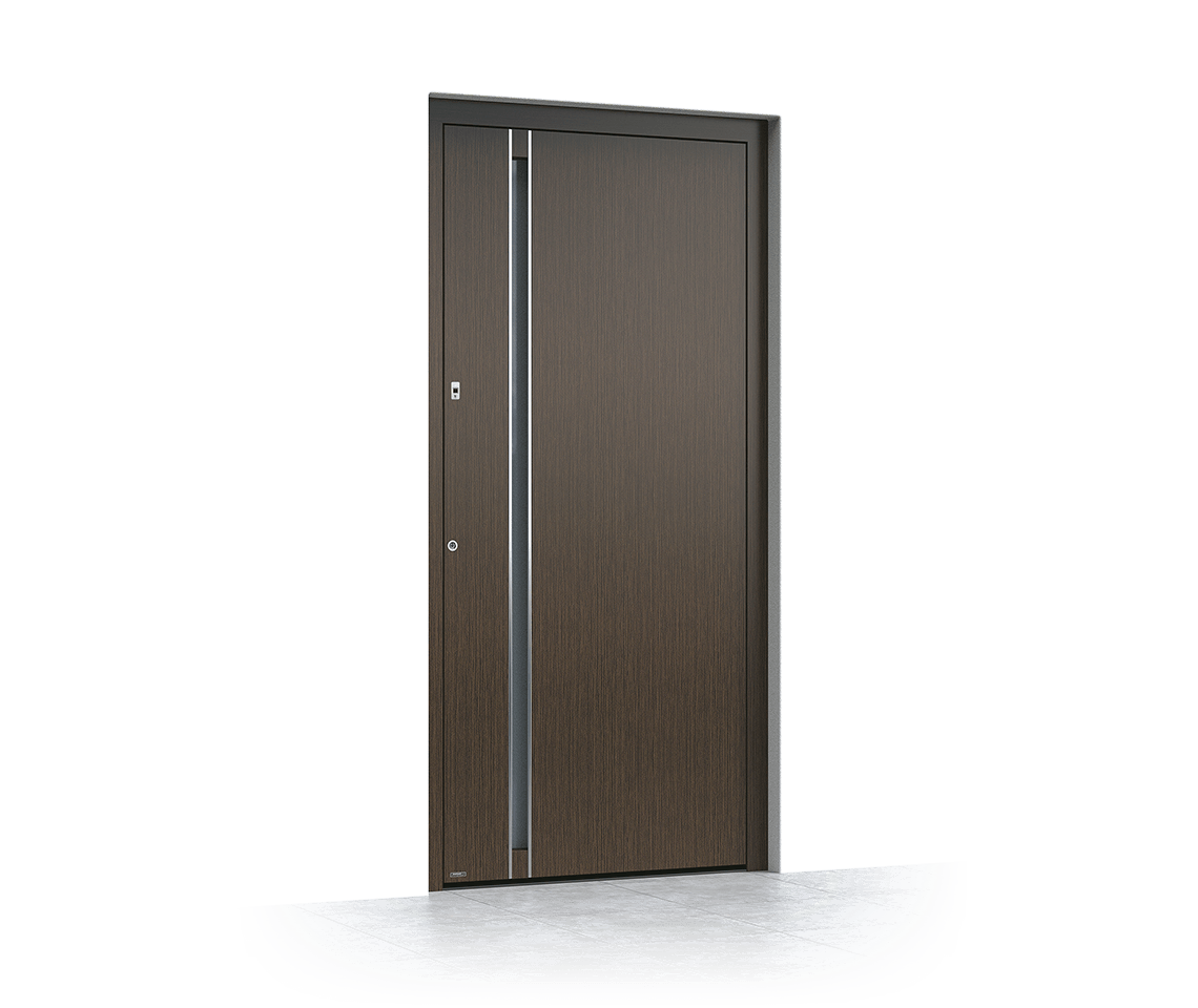 Aluminium entrance door 6013