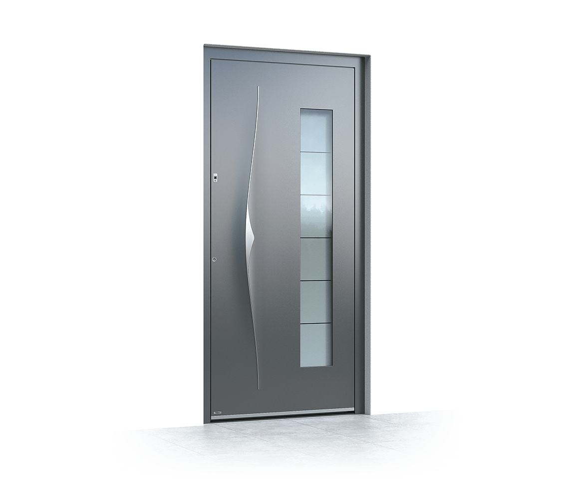 Aluminium entrance door 6018
