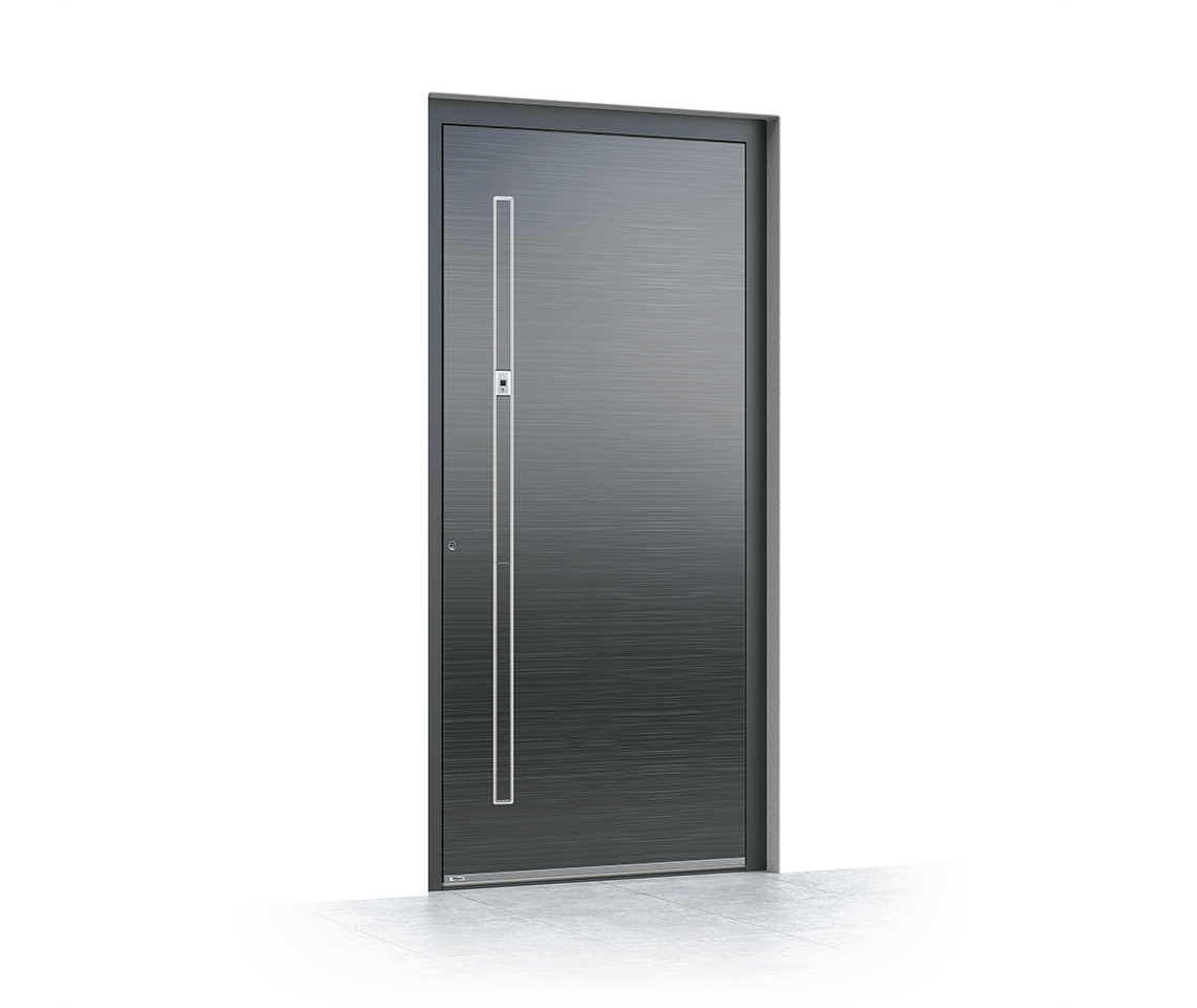 Aluminium entrance door 6024