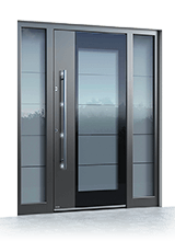 Aluminium entrance door 0140