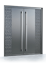 Aluminium entrance door 1016
