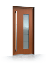 Wooden entrance door 1040
