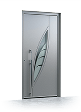 Aluminium entrance door 1340