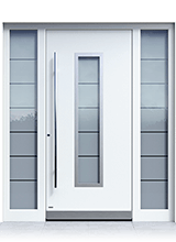 Aluminium entrance door 2341