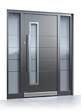 Aluminium entrance door 2521