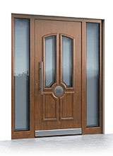 Aluminium entrance door 3170
