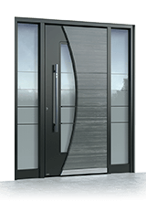 Aluminium entrance door 518