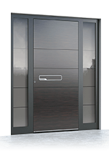 Aluminium entrance door 6010