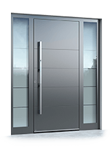 Aluminium entrance door 6011