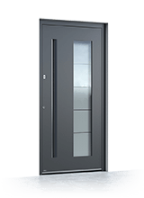 Aluminium entrance door 6016