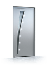 Aluminium entrance door 631